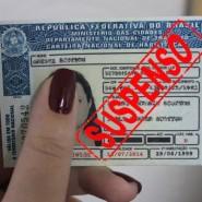 Sentença em mandado de segurança acerca de cassação de carteira de habilitação
